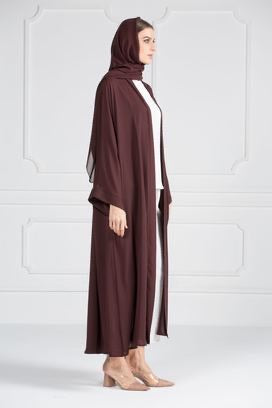 COLORED ABAYA ORDERS - Black Ruby (AM2)