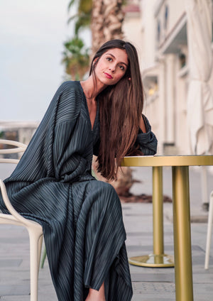 BEYOU -  FULL PLEATED ABAYA