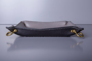 VALET TRAY IN GRAY/BLACK