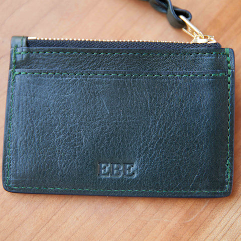 cf5ccc29aaa8 Zipper Credit Card Wallet - Handmade Leather Wallet and Pouch ...