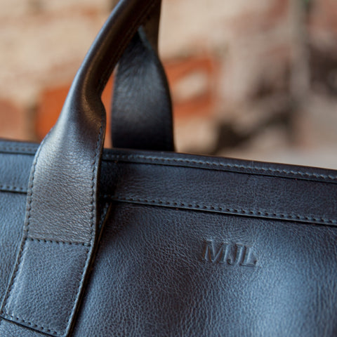 Lotuff Leather Duffle Travel Bag Monogram
