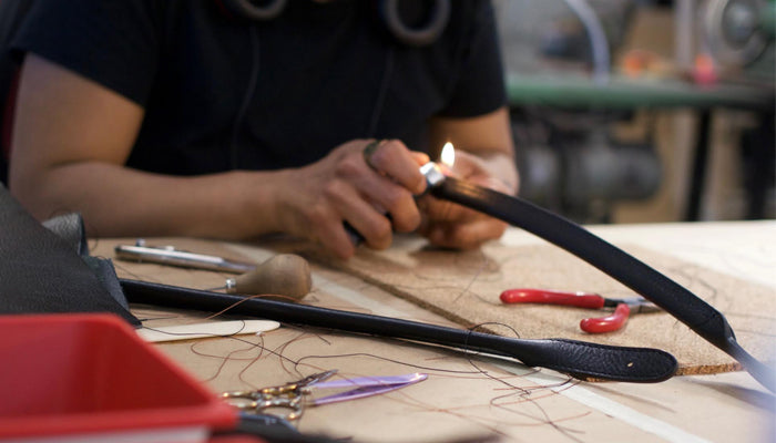 Turning and Burning the Lotuff Leather Working Tote