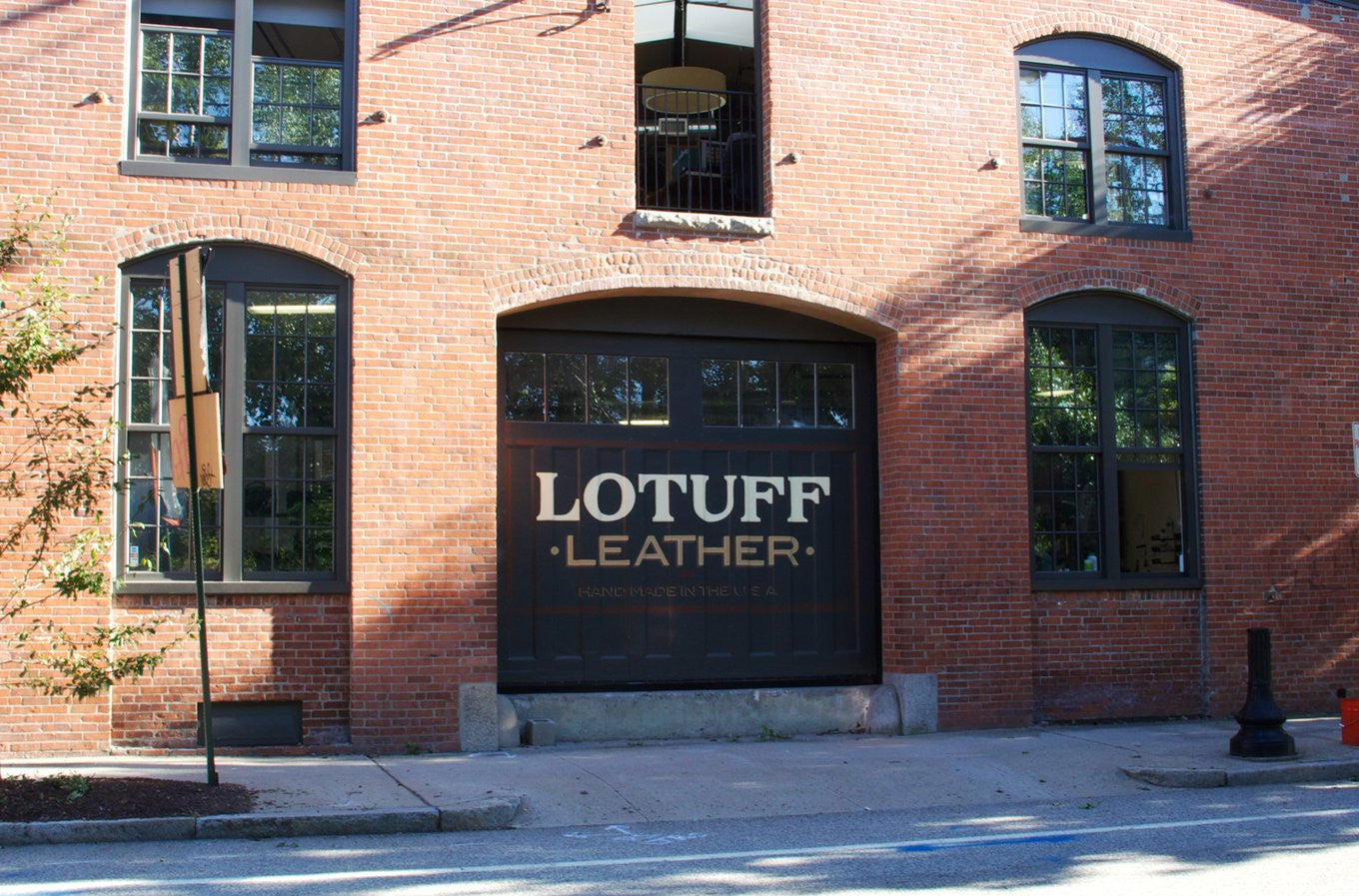 Lotuff Leather Building