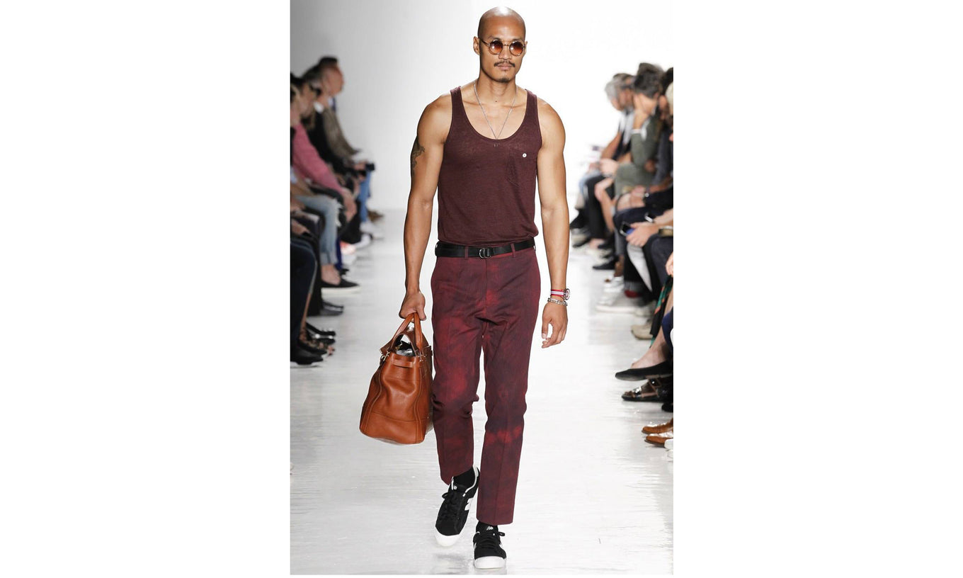 Todd Snyder SS17 NYFWM x Lotuff Leather Day Satchel