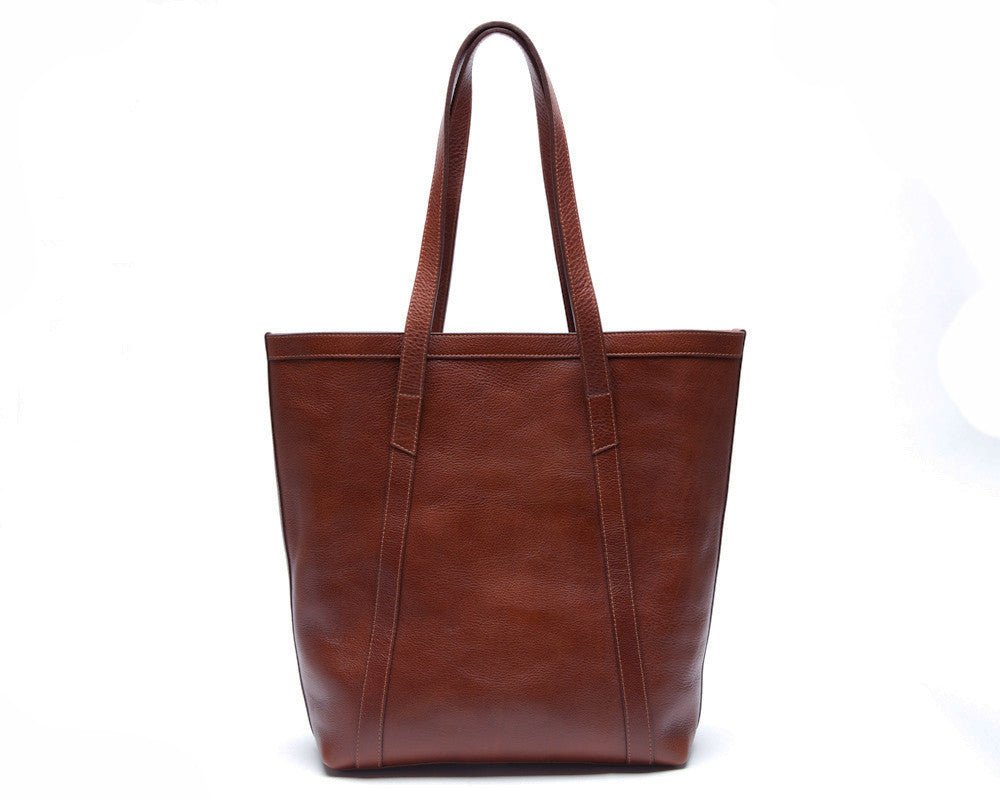 Angle Tote Chestnut|Front View