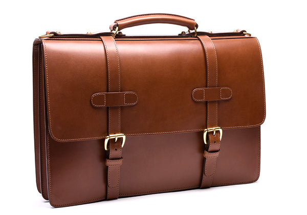 bridle english briefcase handmade leather briefcases and bags