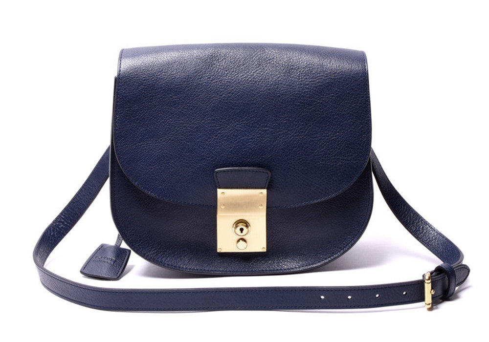 Arc Shoulder Bag Indigo-Electric Blue