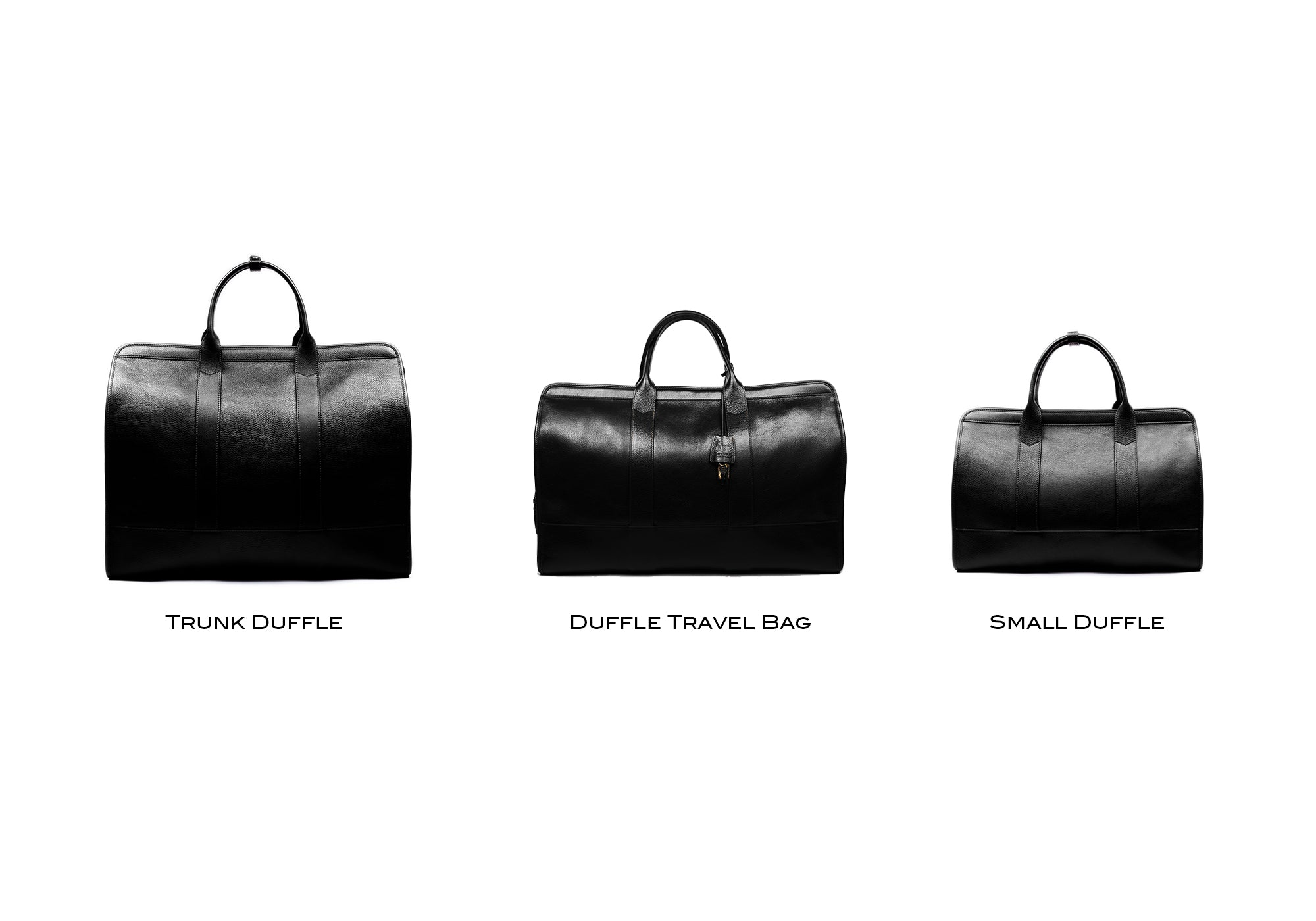 Leather Trunk Duffle Bag Lifestyle