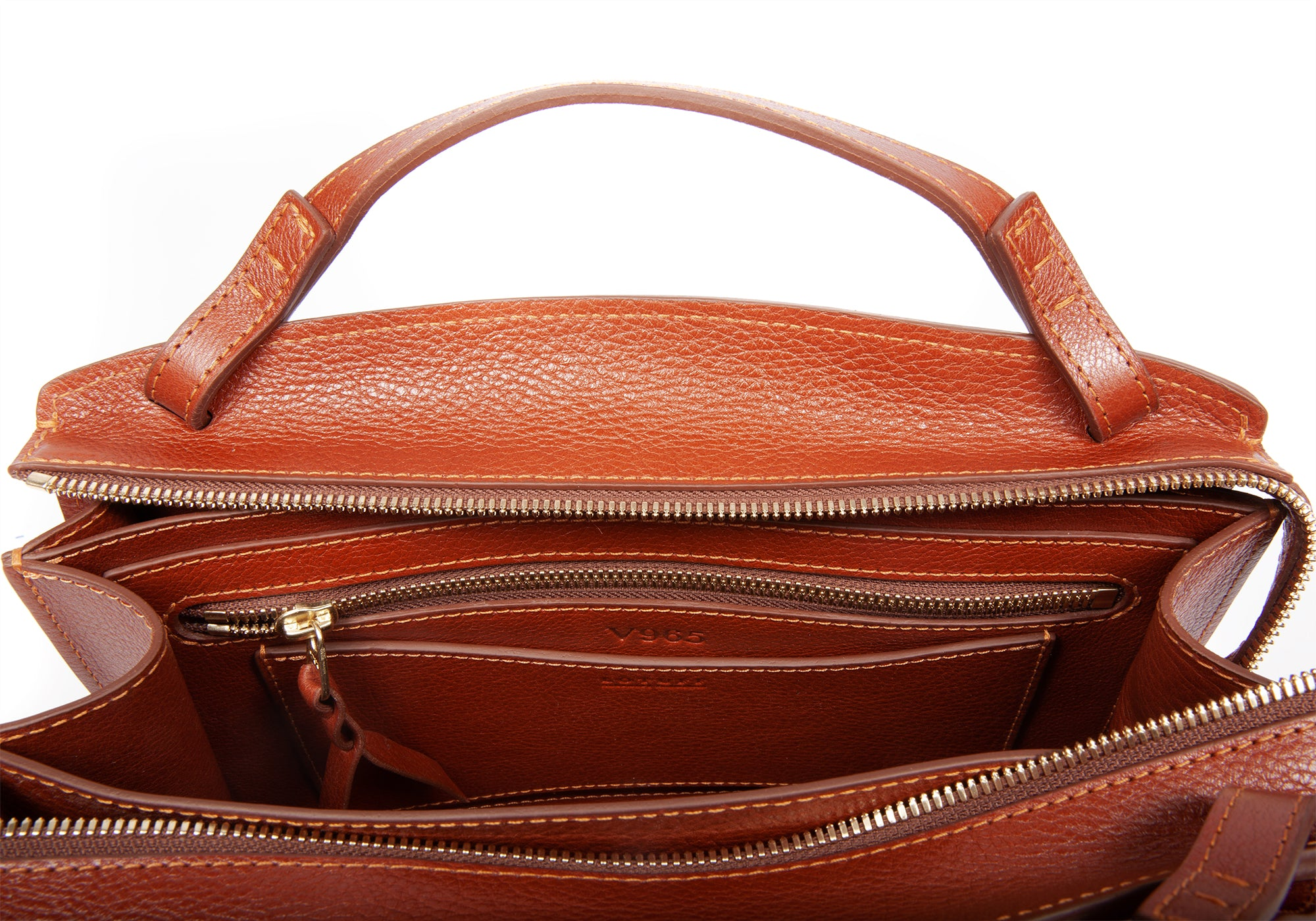 The Sol Handbag Saddle Tan