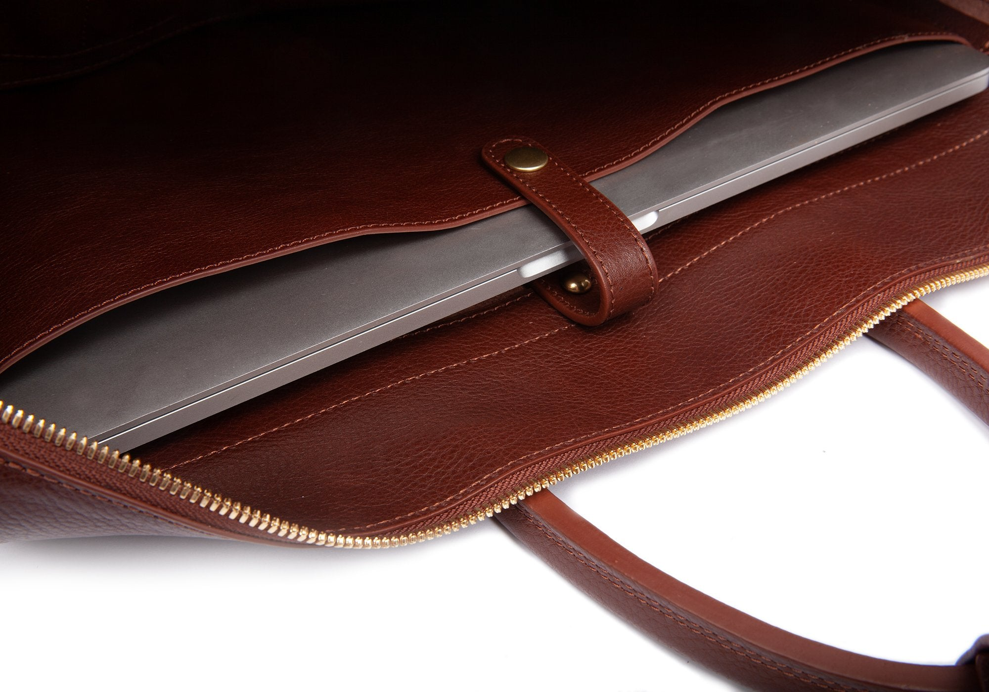 The 929 Briefcase Chestnut
