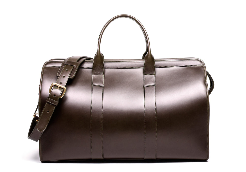 Bridle Duffle Travel Bag Chocolate Bridle