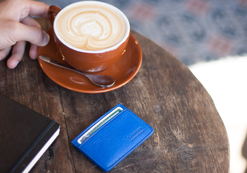 Leather Credit Card Wallet Lifestyle