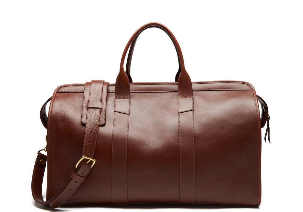 Leather Duffle Travel Bag - Handmade Leather Bags · Lotuff Leather 71de7a90434