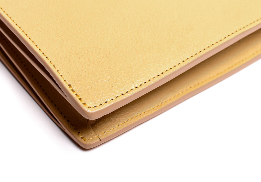 Corner Leather of The Tripp Ochre