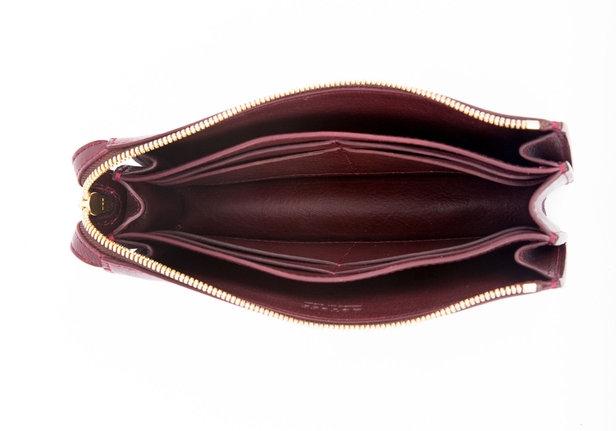 Women's Leather Wallet Cordovan