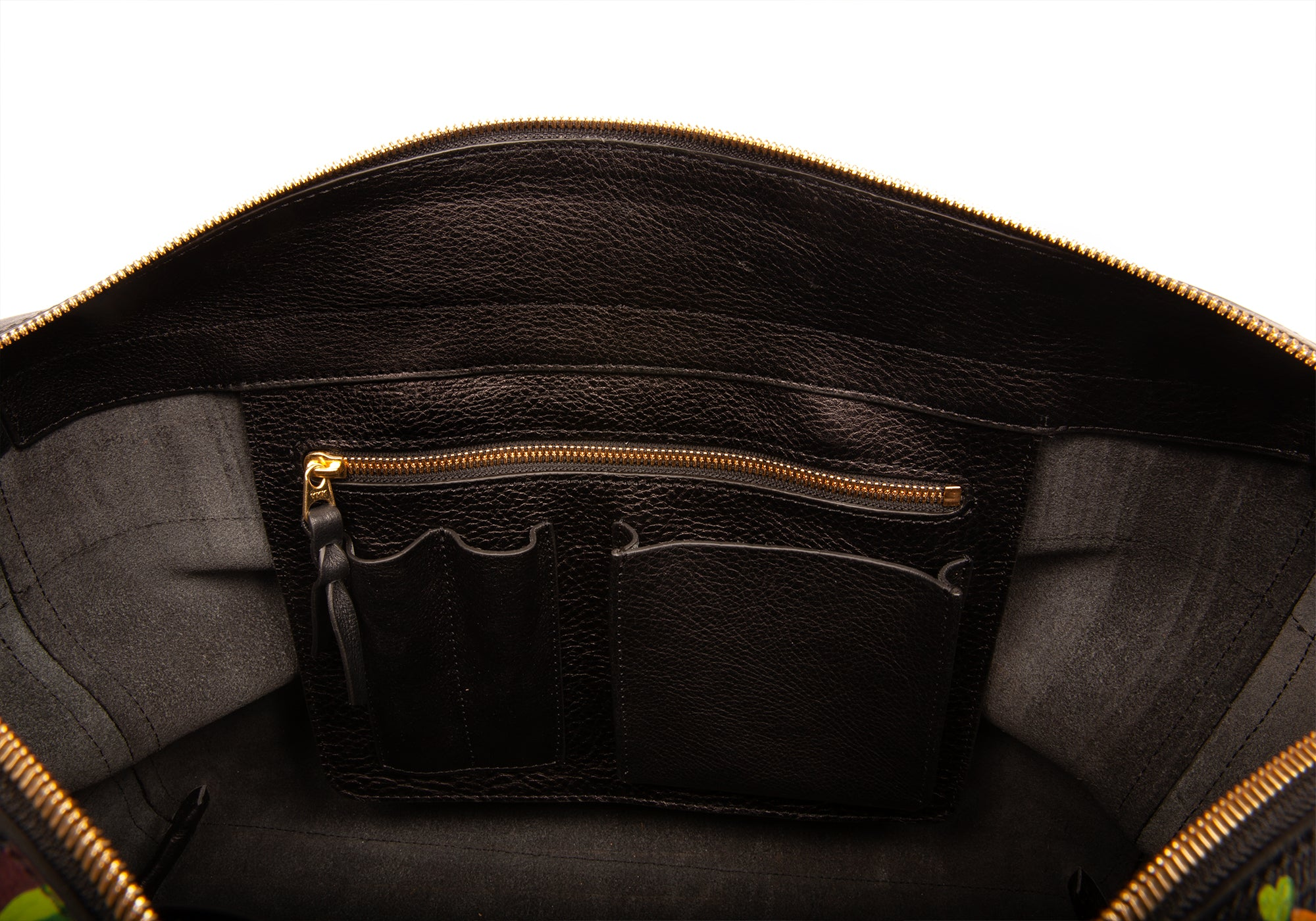 The Handpainted 929 Briefcase Black