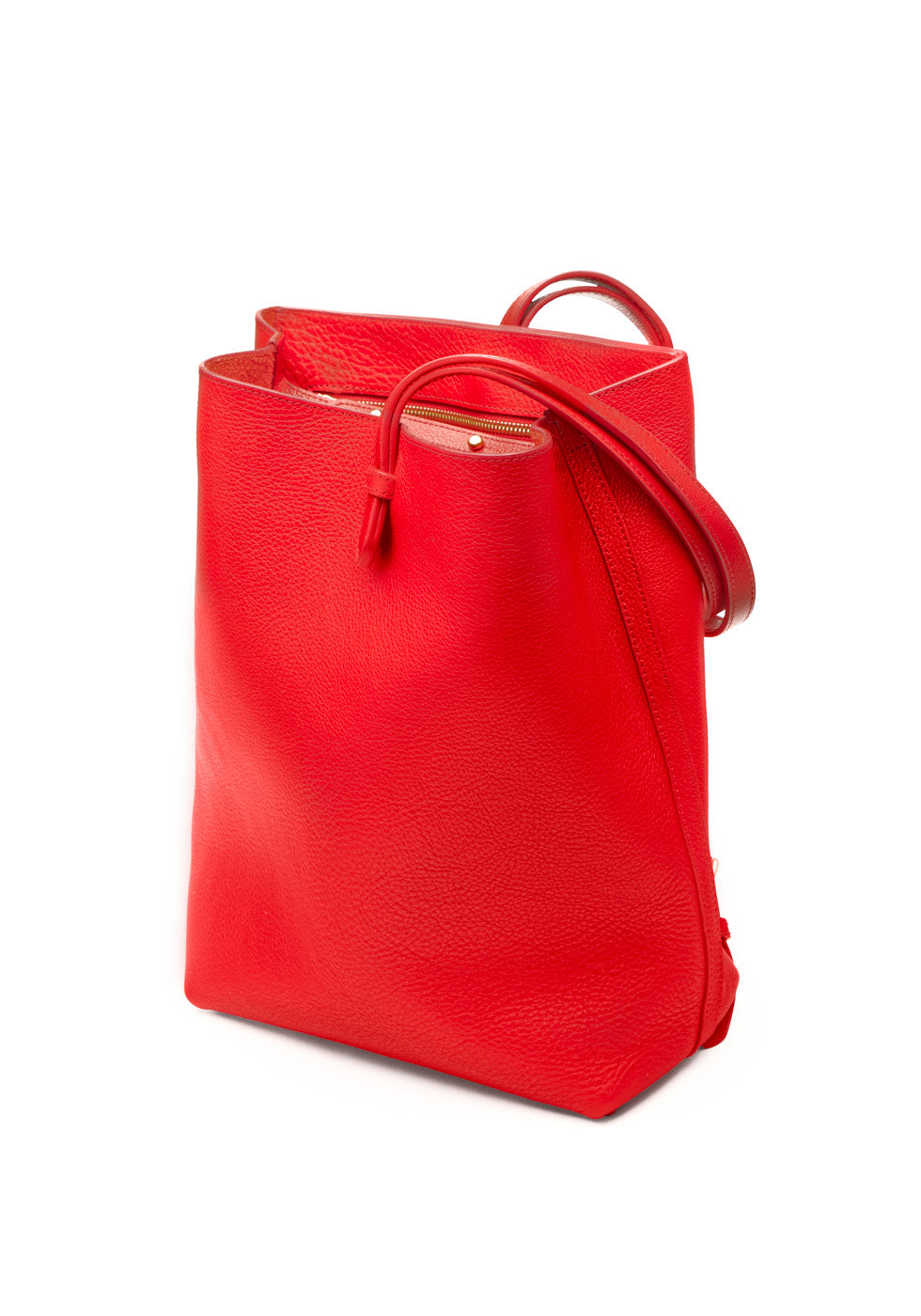 The Sling Backpack Pop Red