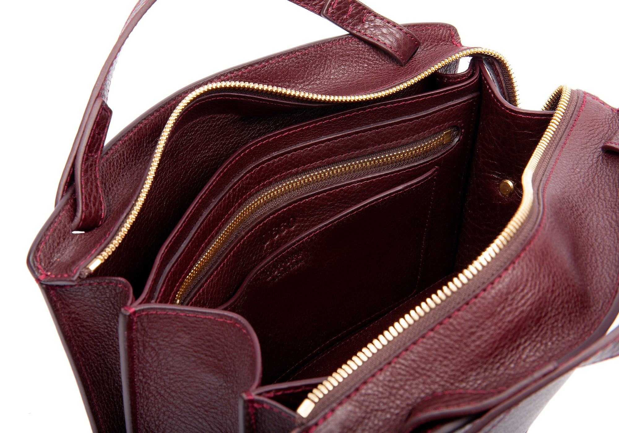 The Sol Handbag Cordovan