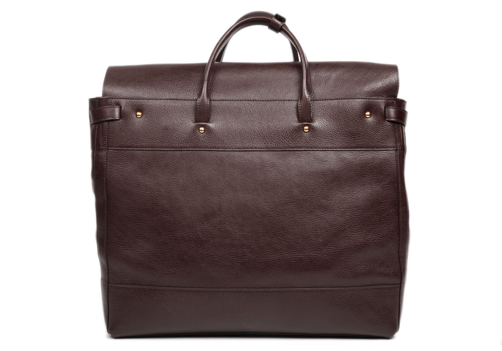Leather Day Tote Chocolate