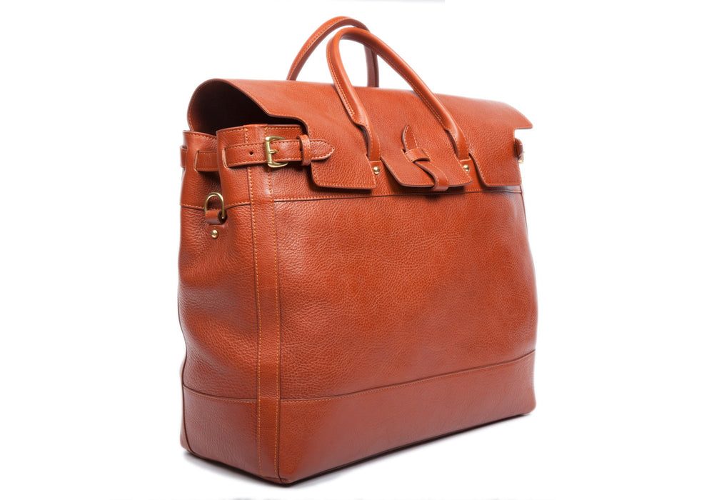 Leather Day Tote Saddle Tan