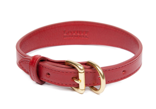 Small Leather Dog Collar