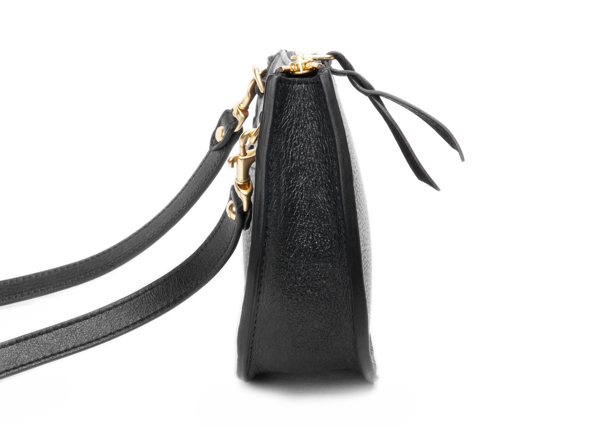 The Mini Luna Belt Bag Black-Red