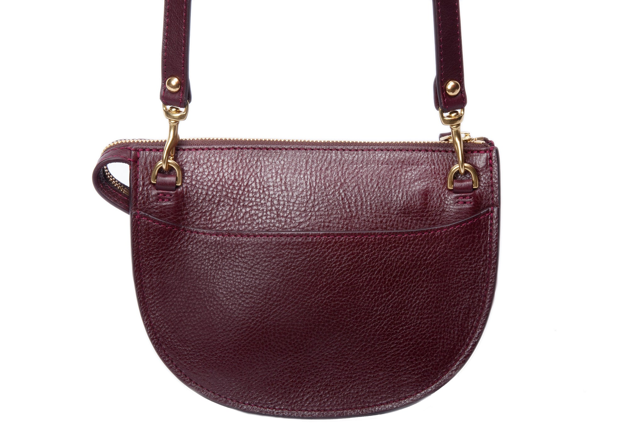 The Mini Luna Belt Bag Cordovan