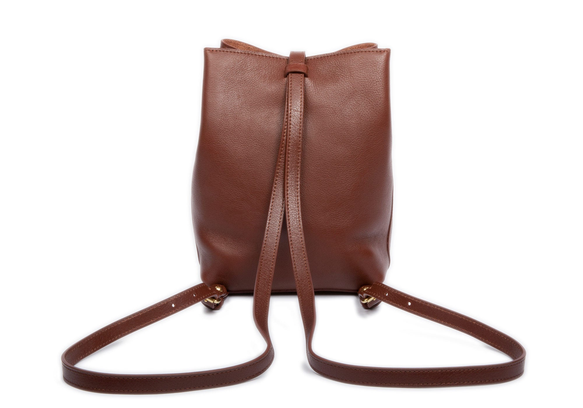 The Mini Sling Backpack Chestnut
