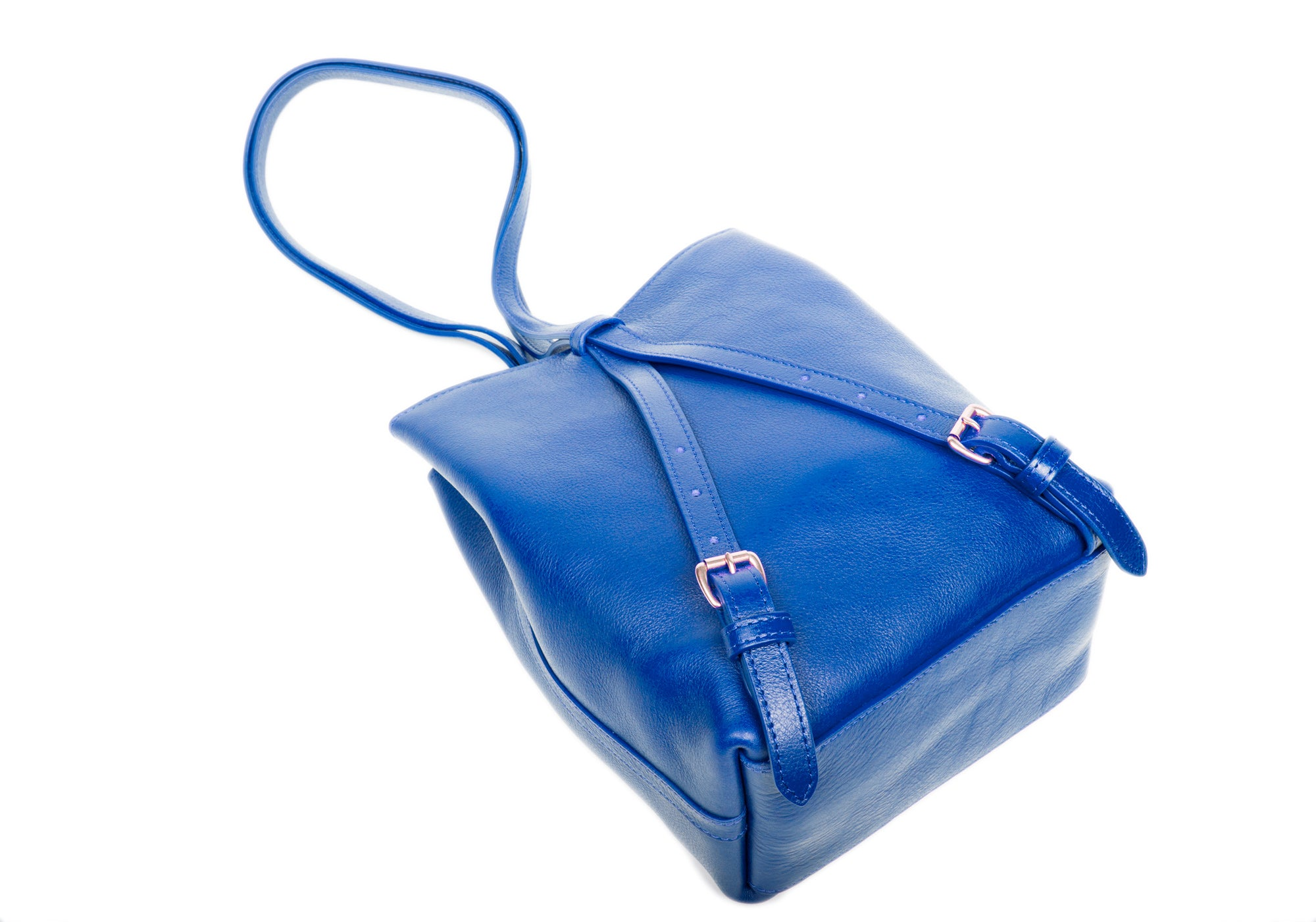 The Mini Sling Backpack Electric Blue