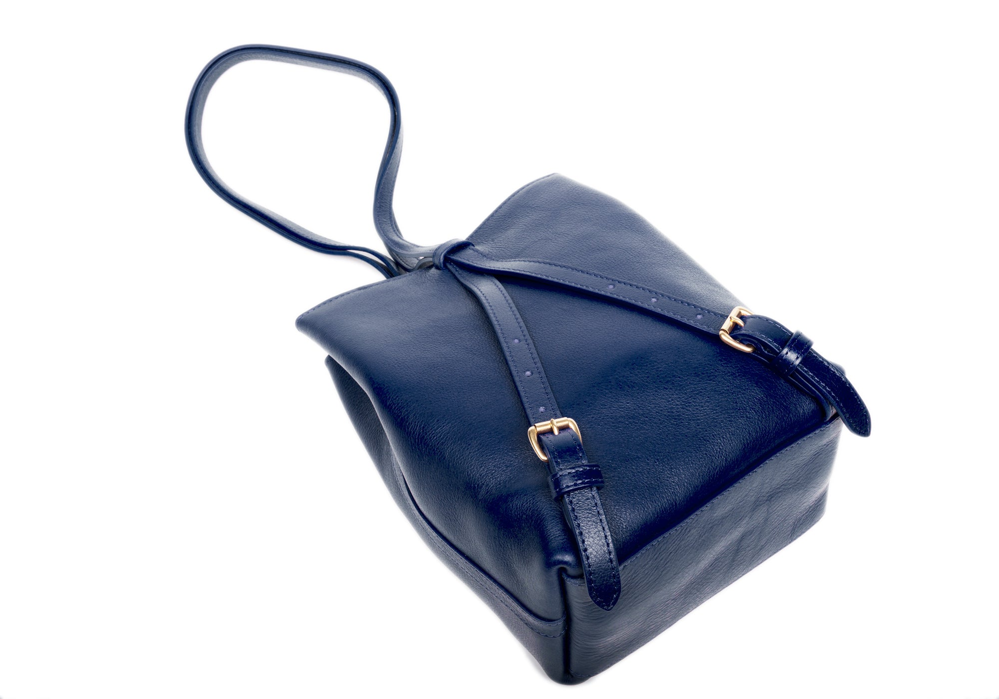 The Mini Sling Backpack Indigo