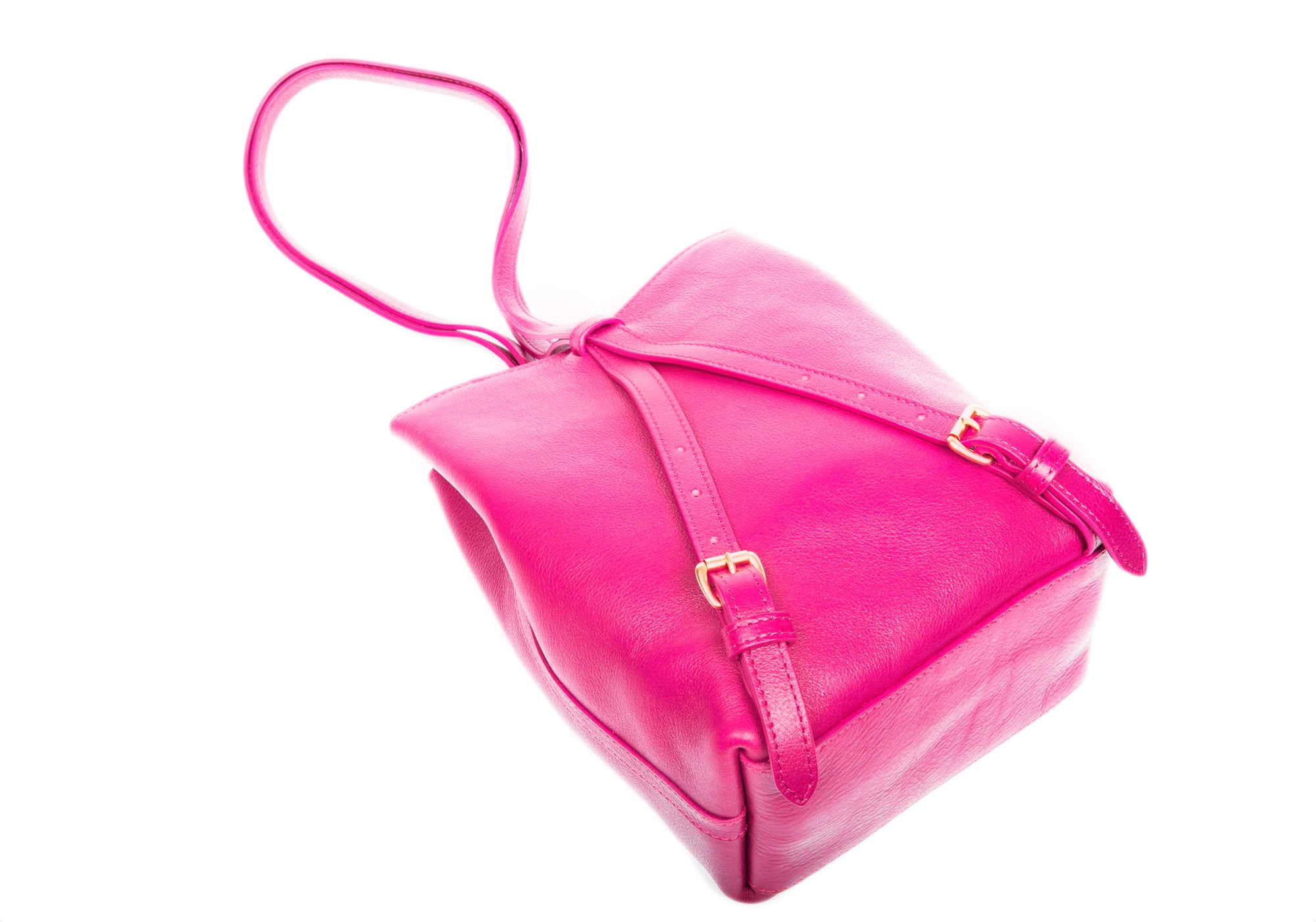 The Mini Sling Backpack Magenta