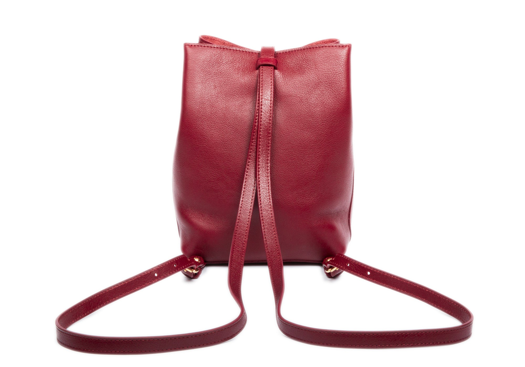 The Mini Sling Backpack Red