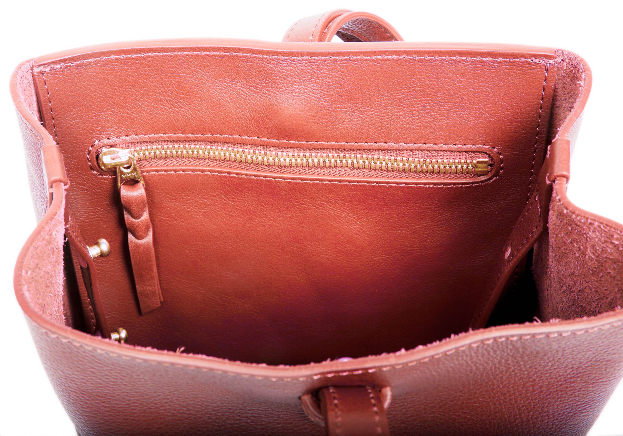 The Mini Sling Backpack Rosewood