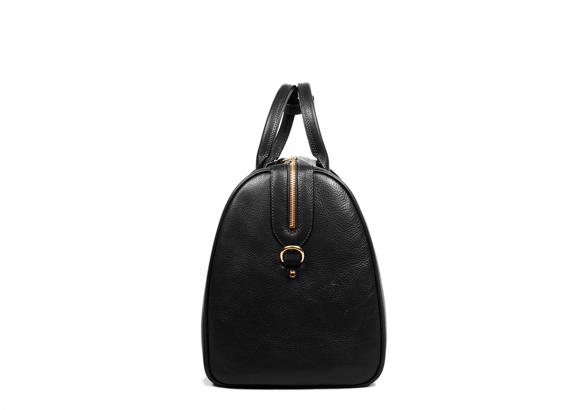 Side View of No. 10 Weekender Bag Black