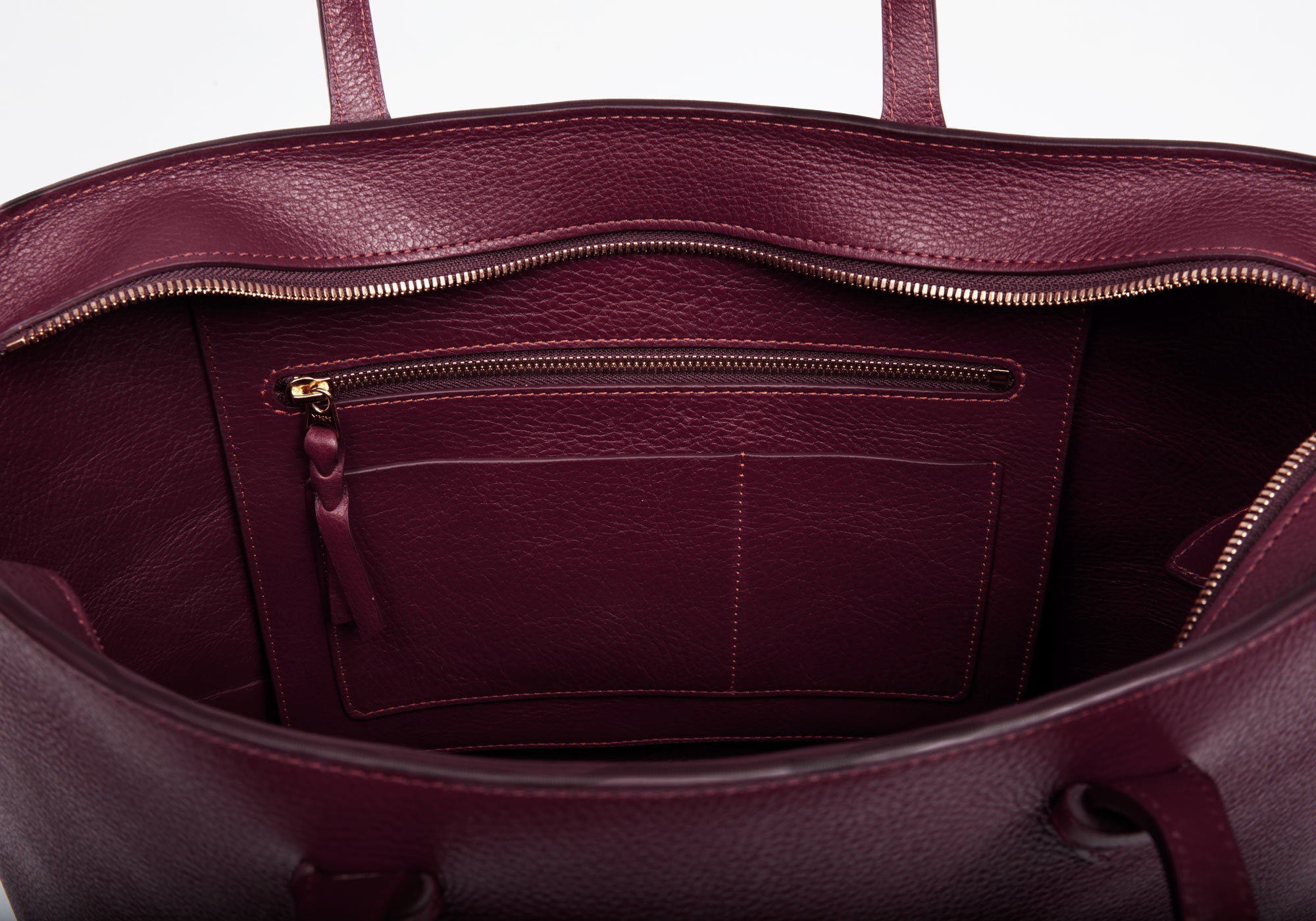 No. 12 Leather Tote Cordovan