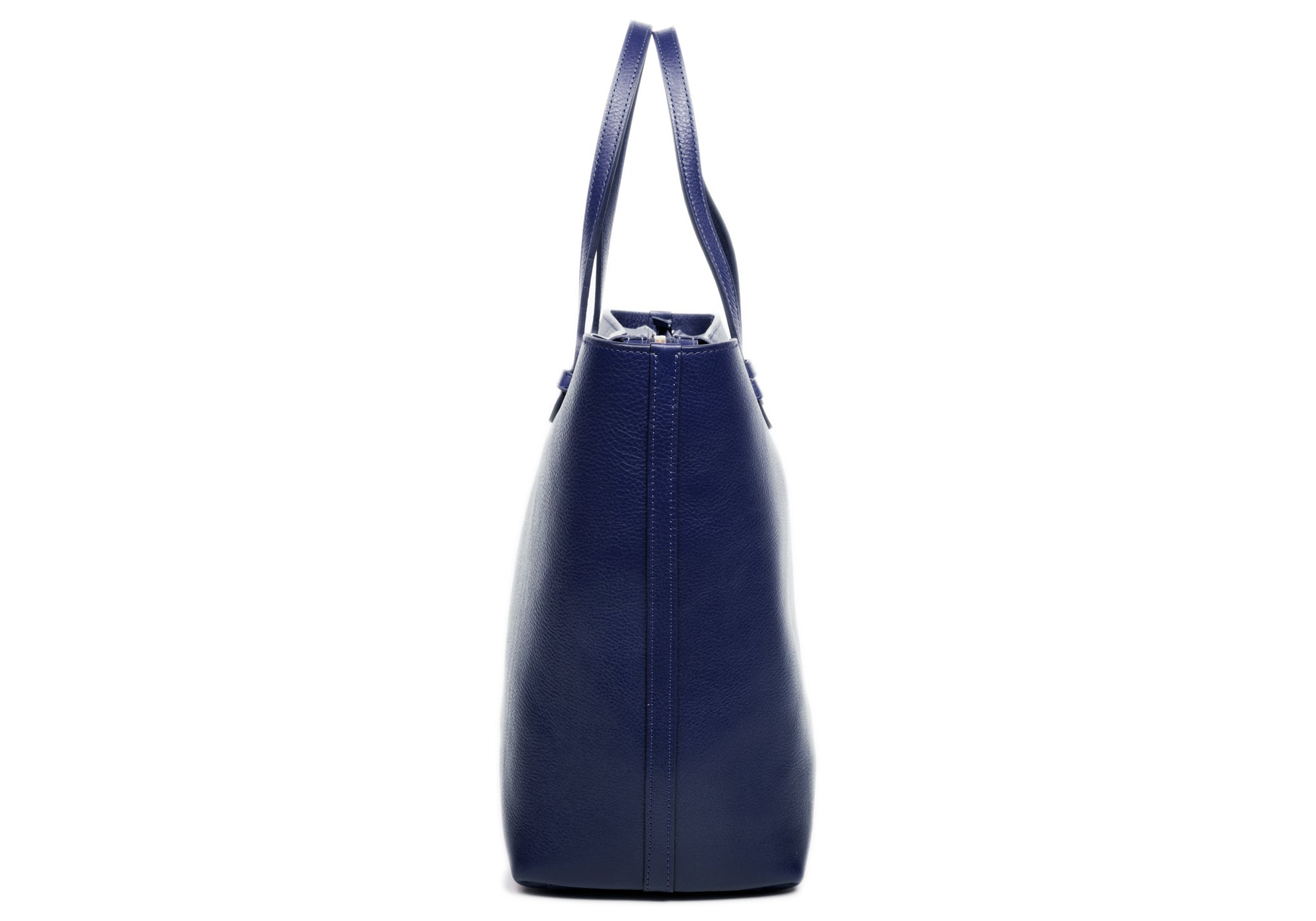 No. 12 Leather Tote Indigo