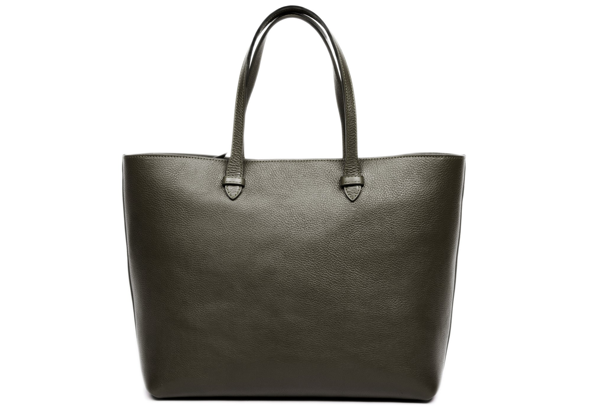 No. 12 Leather Tote Olive