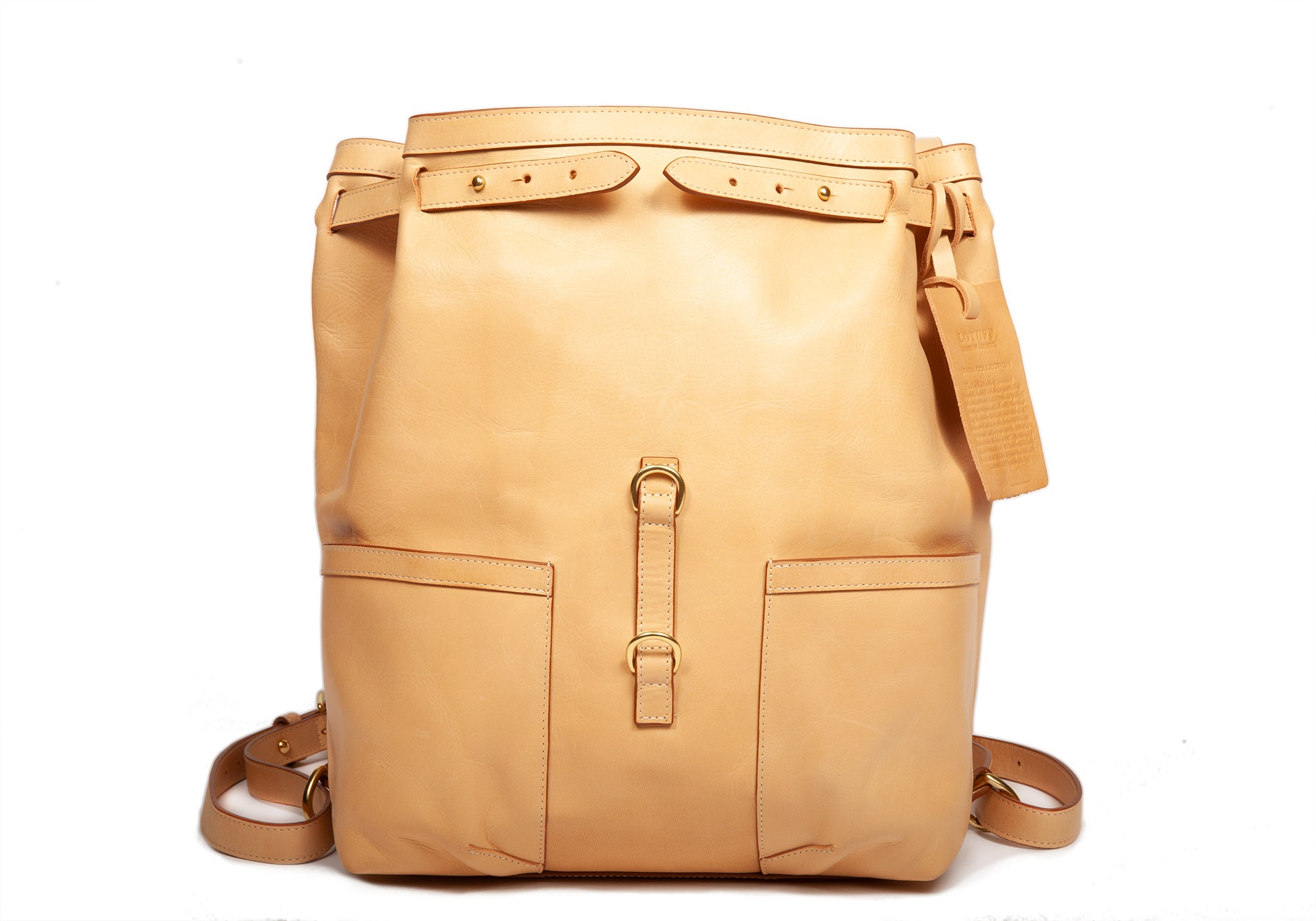 "Raw ""Rasa"" Leather Knapsack Raw-Rasa"