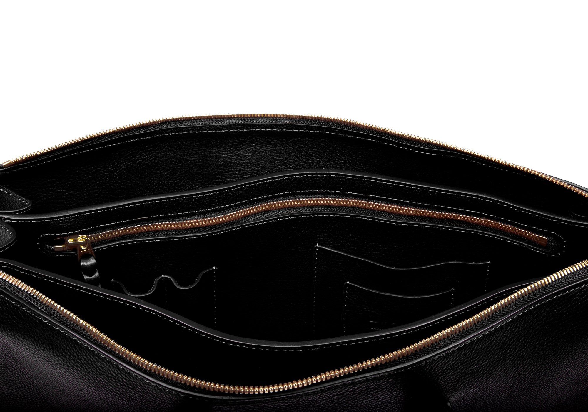 The Triumph Briefcase Black
