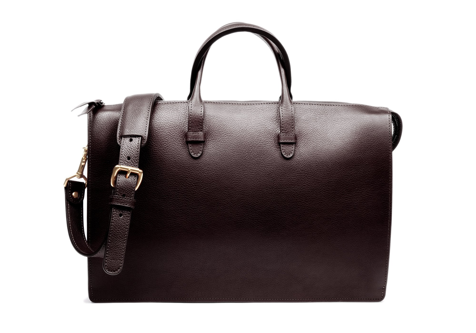 The Triumph Briefcase Chocolate