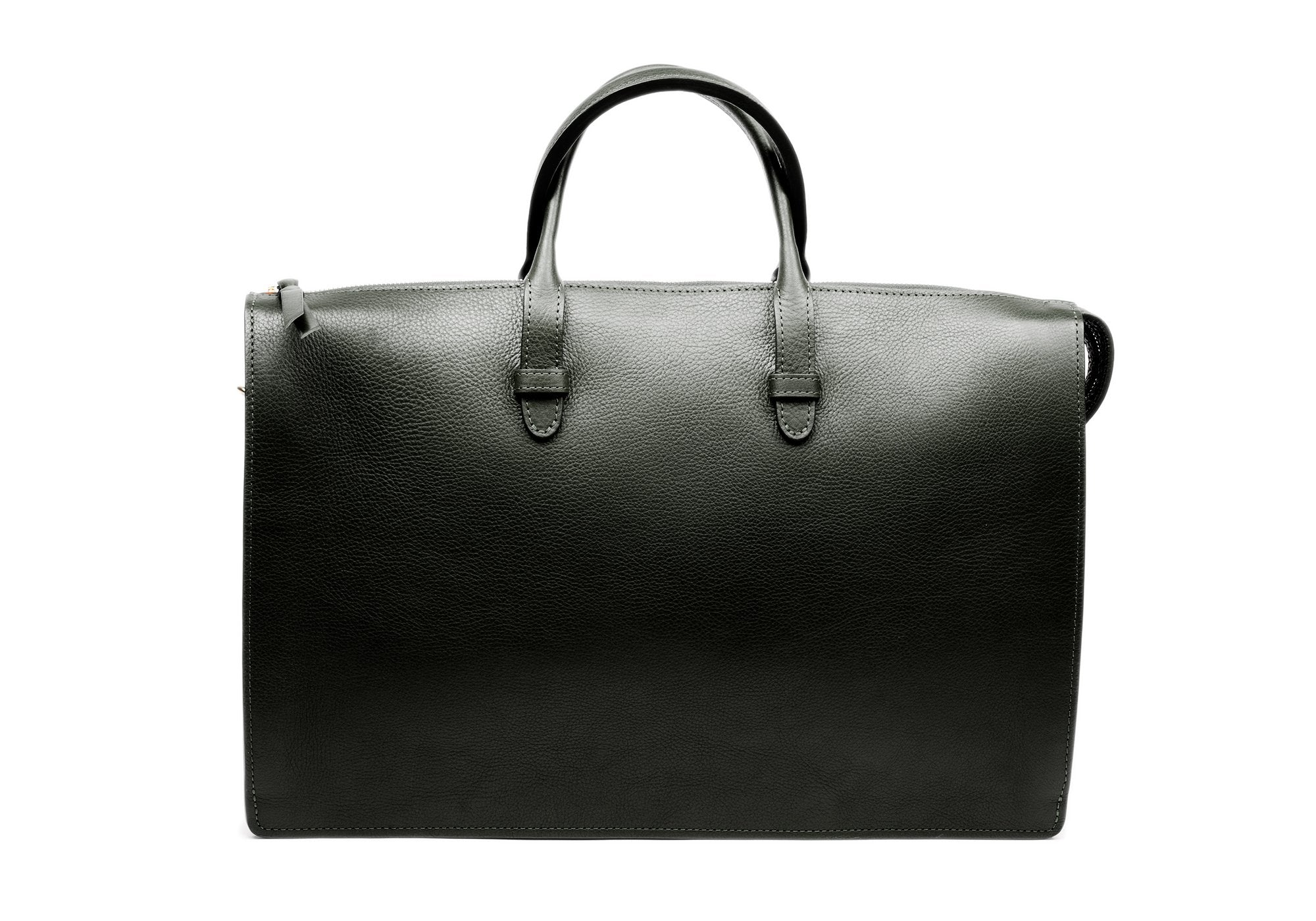 The Triumph Briefcase Green