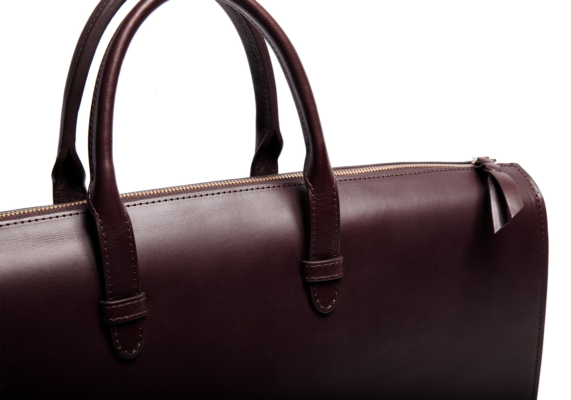 The Bridle Triumph III Briefcase Chocolate Bridle
