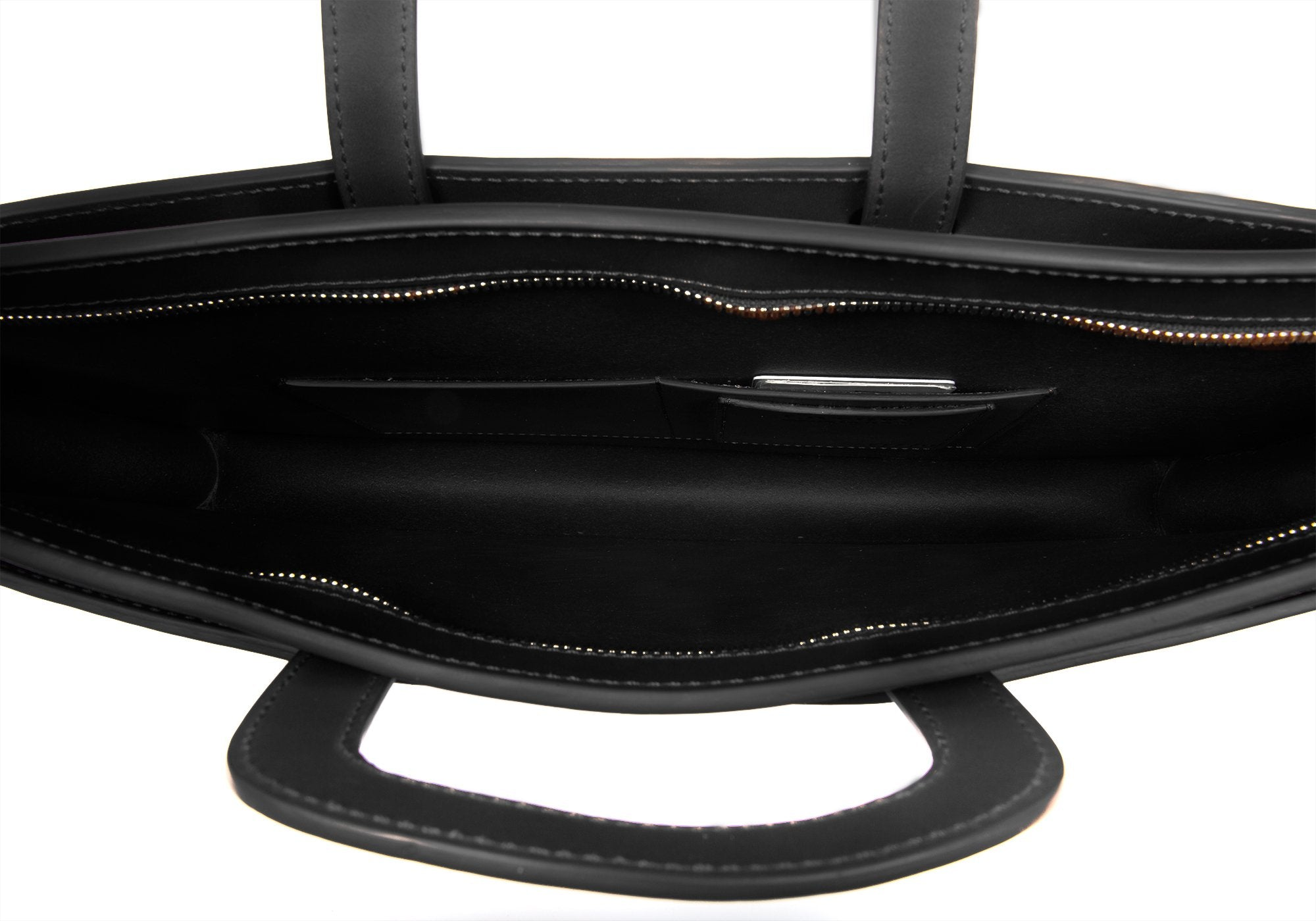 Wells Briefcase Black Bridle