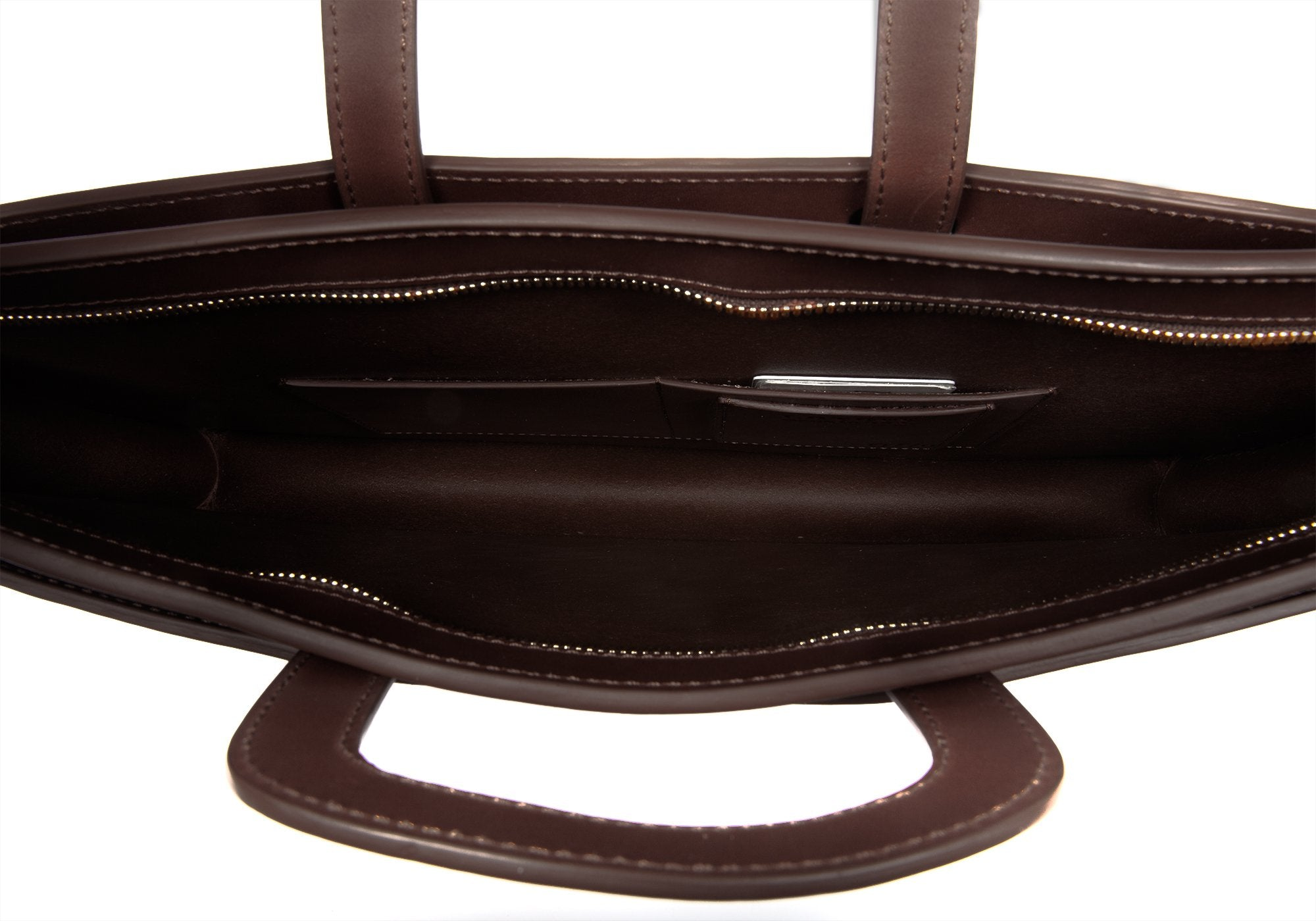 Wells Briefcase Chocolate Bridle