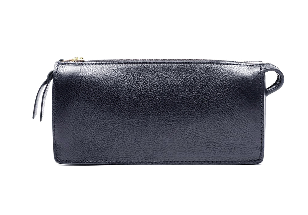 Women's Leather Wallet Navy