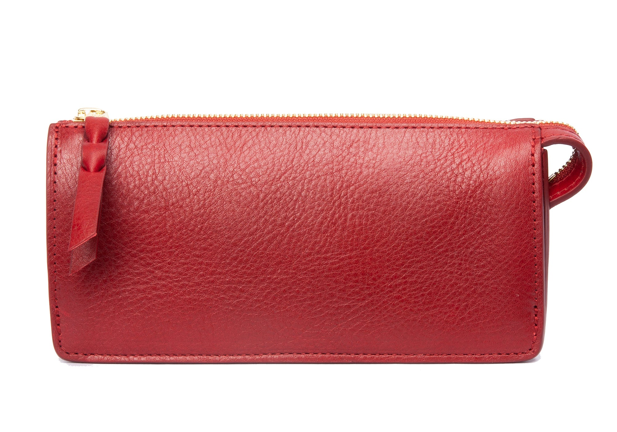 Women's Leather Wallet Red