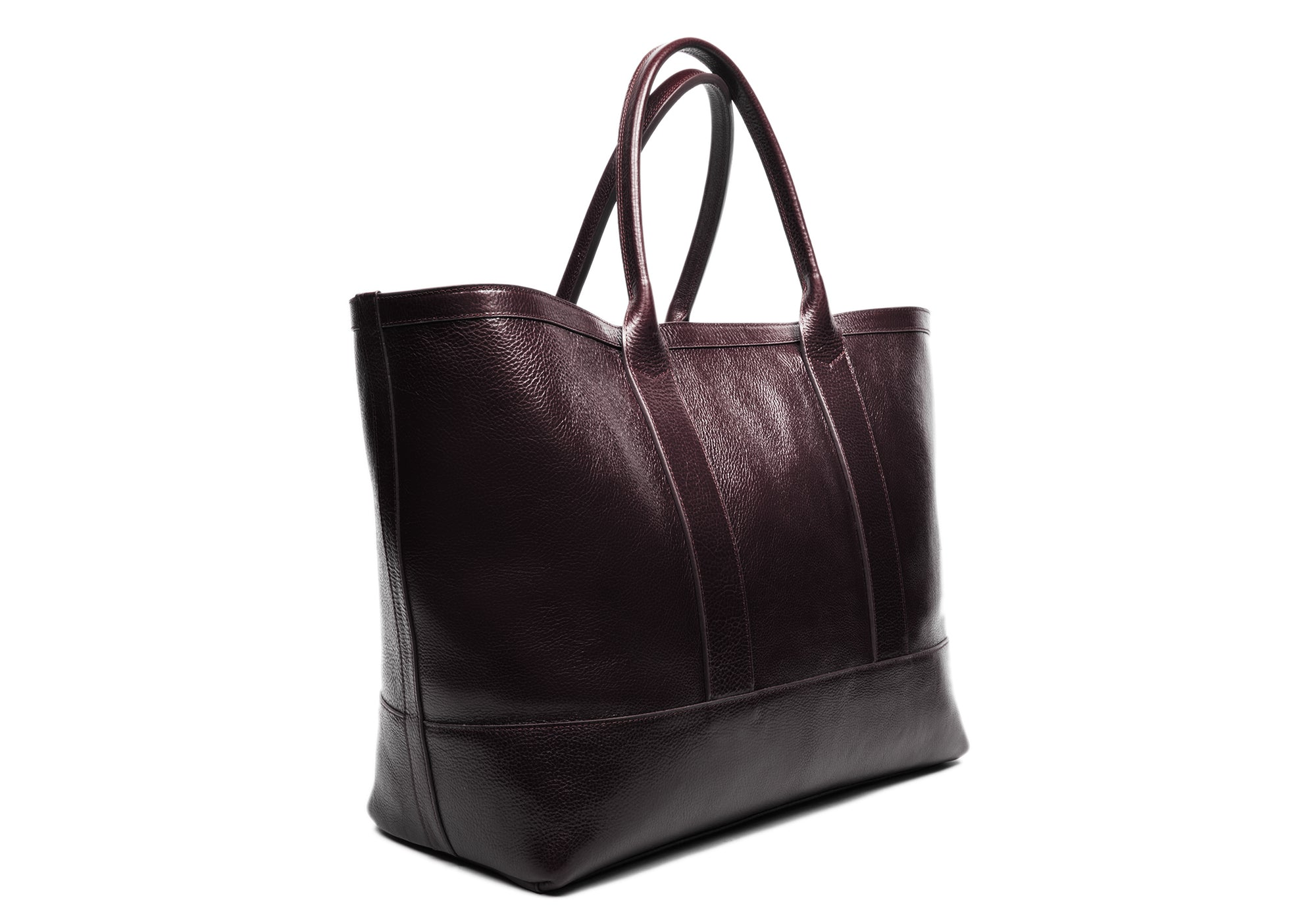 Leather Working Tote Chocolate
