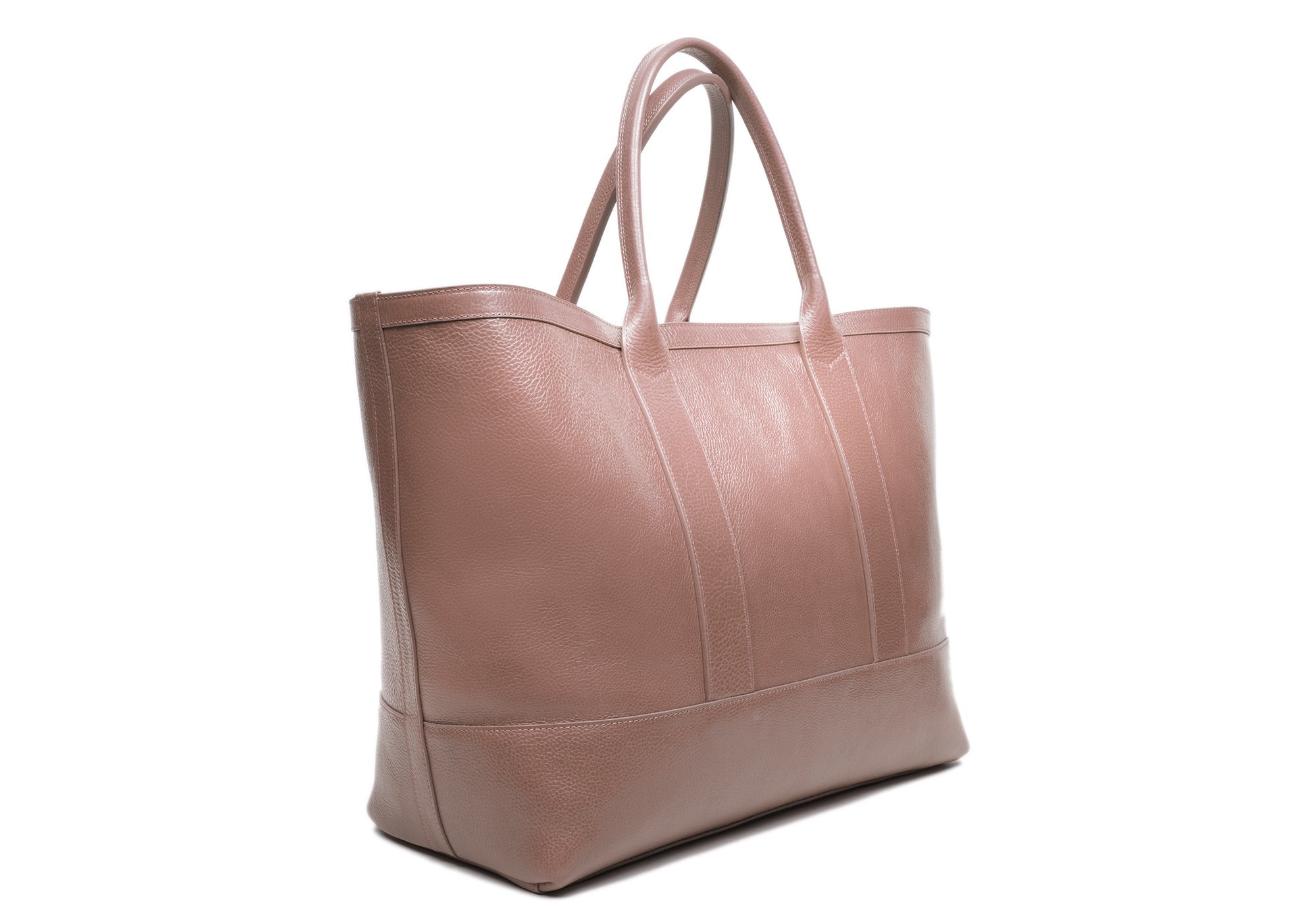 Leather Working Tote Clay