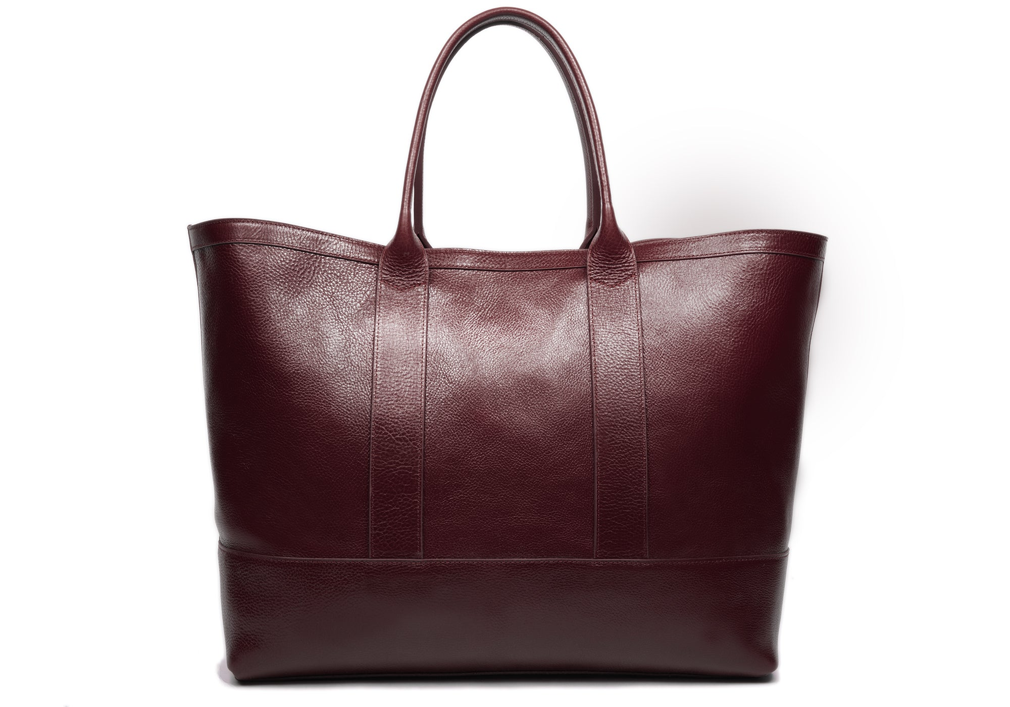 Leather Working Tote Cordovan