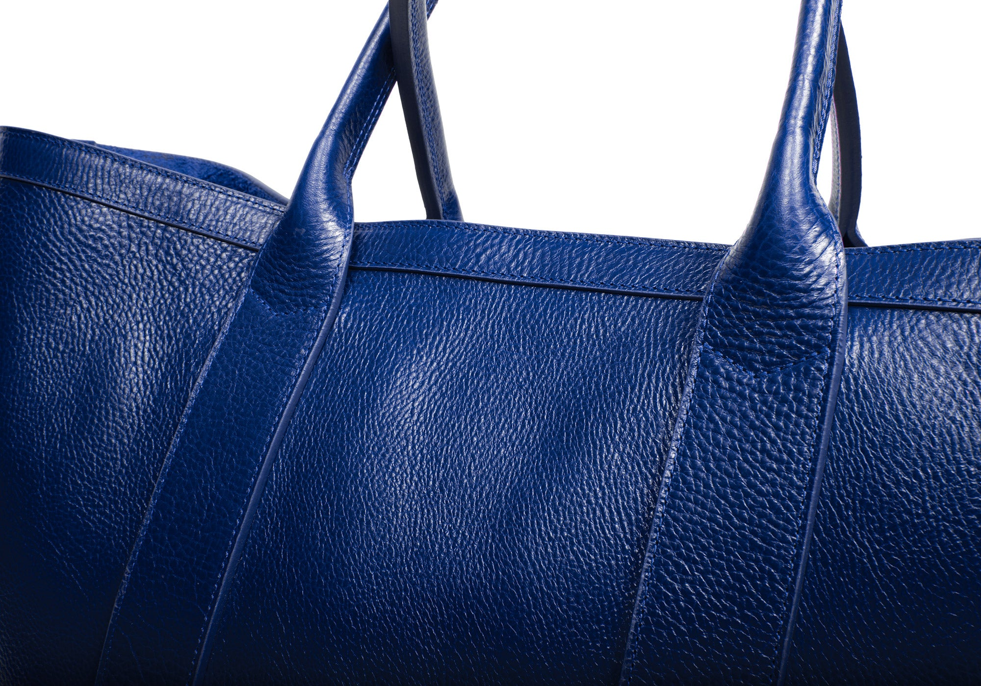 Leather Working Tote Indigo